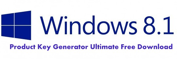 Windows 8.1 Product Key Generator Ultimate Free Download