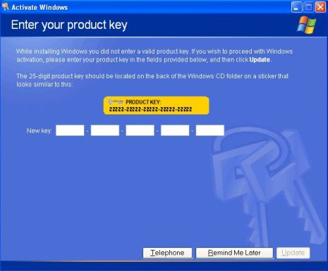 Windows Xp Activator 2016 For SP1 SP2 SP3 Download
