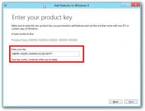Windows 8 Activation Key