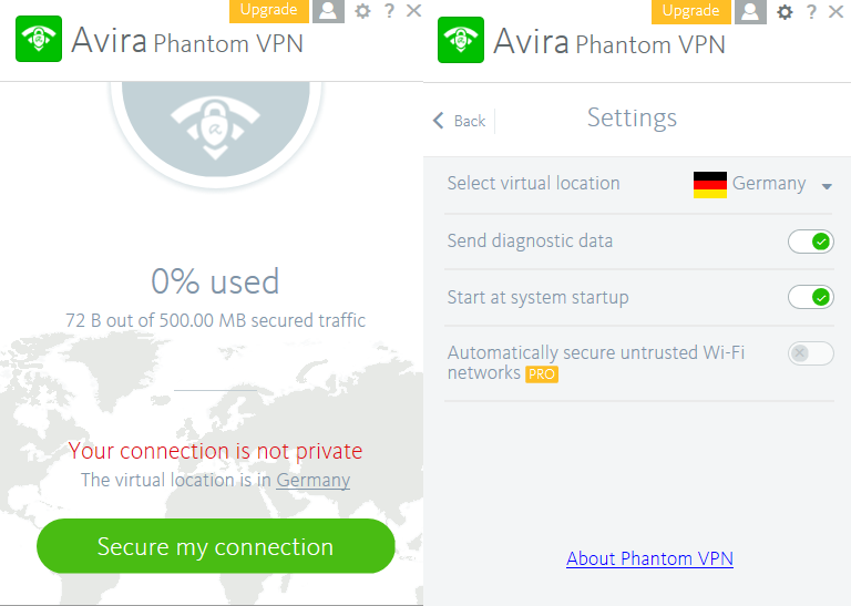 Avira Phantom VPN Pro 2017 2.4.3.30556  [ Crack + Keygen ] FULL Free Download