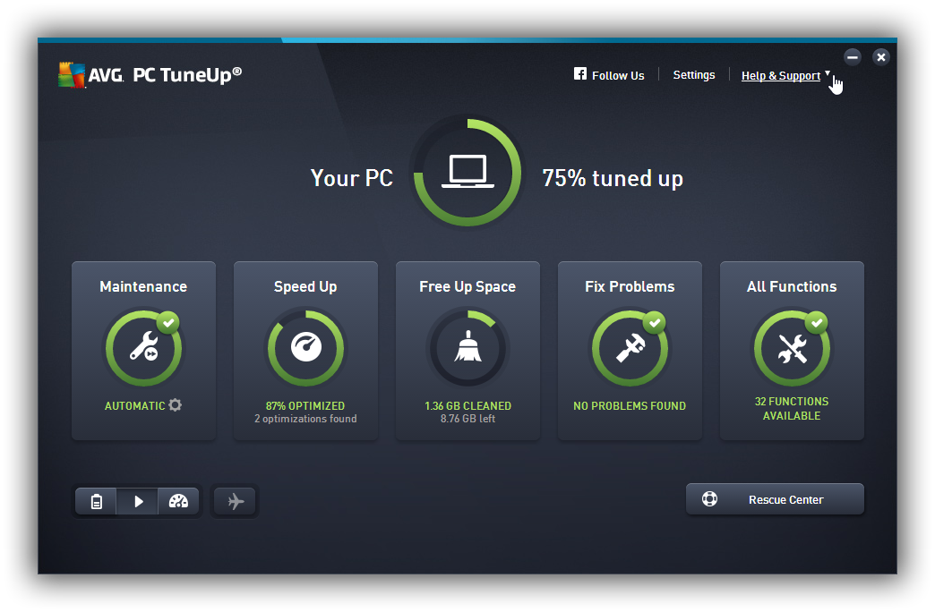 AVG PC Tuneup 2017 Crack Incl Serial Keys FREE Download
