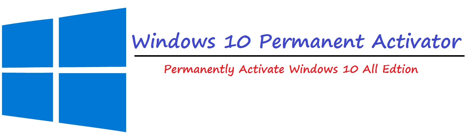 Windows 10 Permanent Activator 2017 Free Download