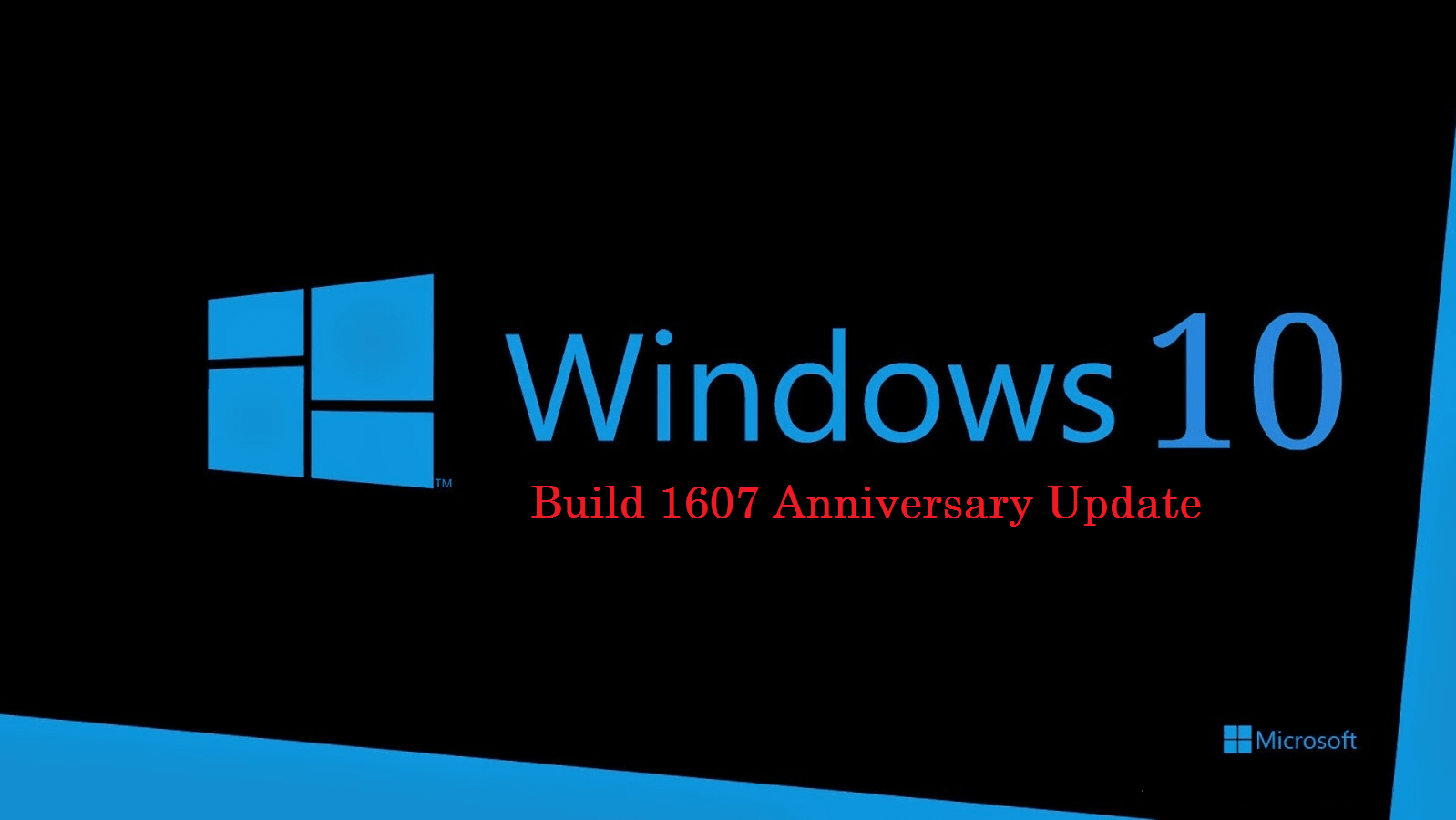 Windows 10 build 1607 ISO [ Anniversary Update ] Free Download