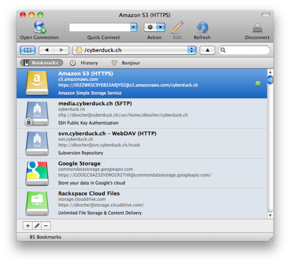 Cyberduck for Windows 7, 8, and 10 64 32 Bit Free Full 5.4.3 Download..