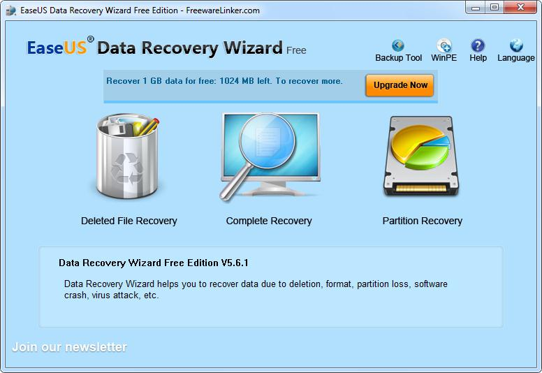 unlimited data recovery software free download with key